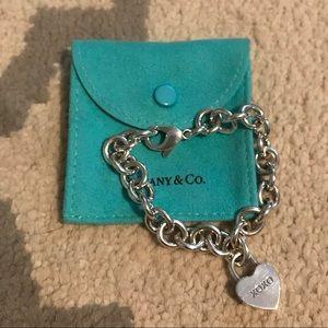 Authentic Tiffany & Co. heart XOXO bracelet